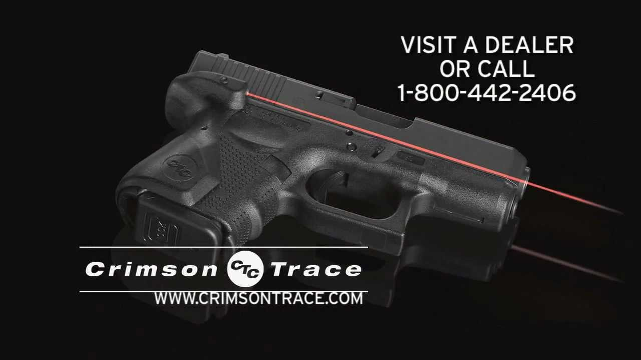 Crimson Trace | Lasergrips for GLOCK Gen4