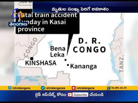 DR Congo Train   Derailment Kills 24