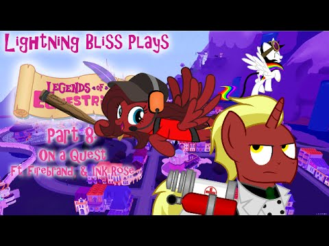 Lightning Bliss Plays Legends Of Equestria P8