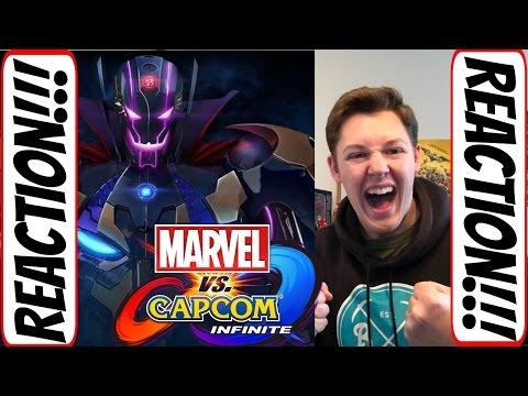 Marvel Vs. Capcom Infinite Trailer #1 Reaction - 동영상