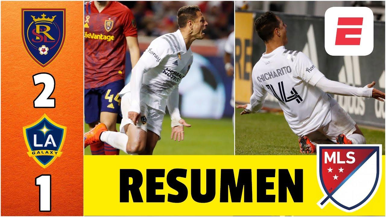 Real Salt Lake 2-1 LA Galaxy. GOLAZO de Chicharito Hernández. Joya de Julio para el triunfo