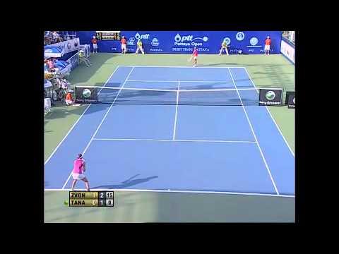 Tamarine Tanasugarn vs Vera Zvonareva 2010 Pattaya Final HL