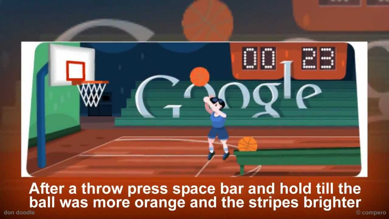 Basketball Google Doodle Tutorial 42 Points Usa