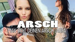 LAURA zeigt fast ihren kompletten ARSCH 💔 Erneut shitstorm gegen WENDLERs Freundin !
