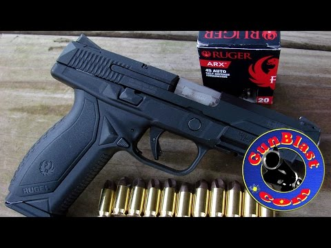 Shooting The Ruger American 45 ACP Semi-Automatic Pistol - Gunblast.com