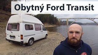 🚌 Jak to vypadá v domečku na kolech (obytný Ford Transit Reimo 2.5D) [EXKURZE]