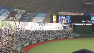 西武プリンスドーム 埼玉西武ライオンズ対オリックス・バファローズ 4回...