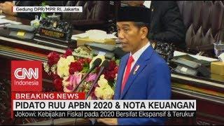 Ini Pidato Lengkap Jokowi di Nota Keuangan RAPBN 2020