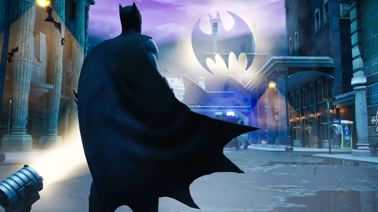 Exploring The New GOTHAM CITY in Fortnite.. - YouTube