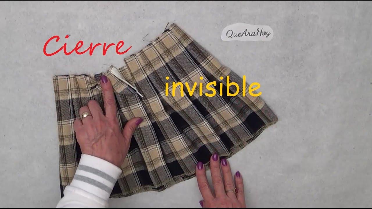 Como Poner Un Cierre Invisible Alta Costura Para Niños Clase 72