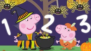 Peppa Pig Halloween Special 🎃 Learn to Count with Peppa Pig | Learning with Peppa Pig