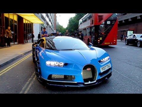 $2.5 Million Bugatti Chiron CAUSES CHAOS in Central London!