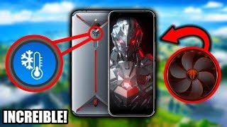 El Increíble Smartphone Gamer con Refrigeración Liquida y Ventilador *Red Magic 3S*