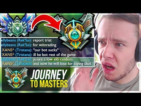 MASTERS IS HERE? THIS GAME IS SO TOXIC WTF.. - Journey To Masters   League of Legends
