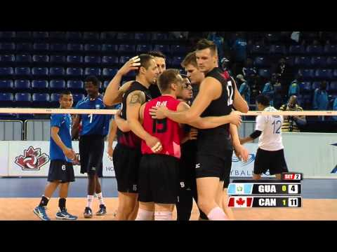 Canada Vs Guatemala - Norceca Championships 2013 - Color Commentary by Claire Hanna