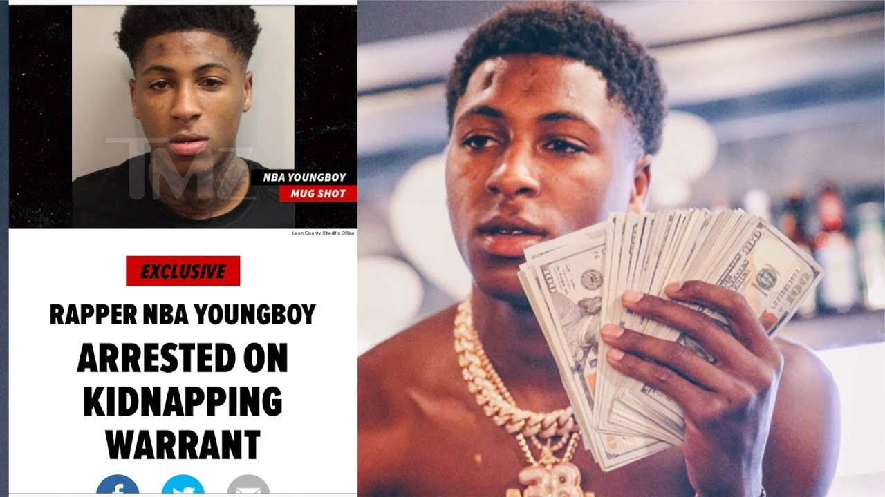 Rapper NBA Youngboy Arrested on Kidnapping Warrant