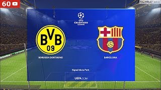 Pes 2019 uefa champions league 2019/2020 matchday 1 : borussia dortmund vs fc barcelona. this is video of gameplay pc. thank y...