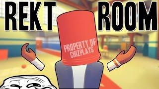 REC ROOM VR TROLLING | GETTING REKT IN REKT ROOM! (FUNNY MOMENTS)