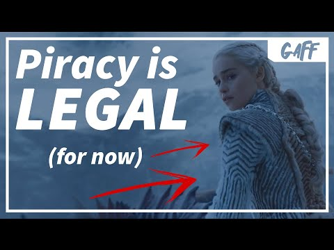 Piracy is LEGAL in Ireland (For Now)