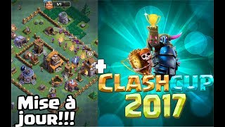 CLASH OF CLANS,ON PARLE MISE A JOUR+CLASH CUP!!!!