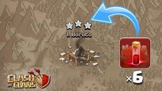 *INSANE RARE* War Attacks   Th9 War Attacks - Clash of clans (COC)