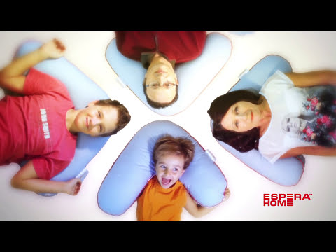 Подушка • Boomerang Buckwheat Pillow/ Бумеранг Баквит Пилоу • 65 x 65 x 25 см - натуральная лузга гречихи