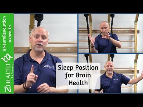 Sleep Position for Brain Health