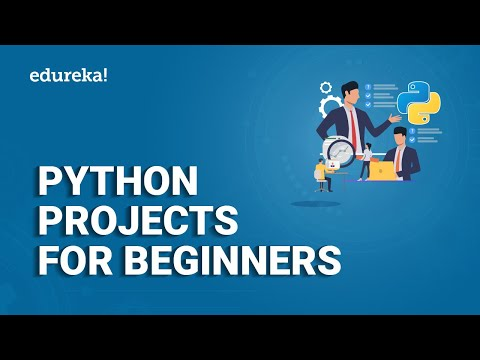 Python Projects For Beginners | Python Projects Examples | Python Tutorial | Edureka thumbnail