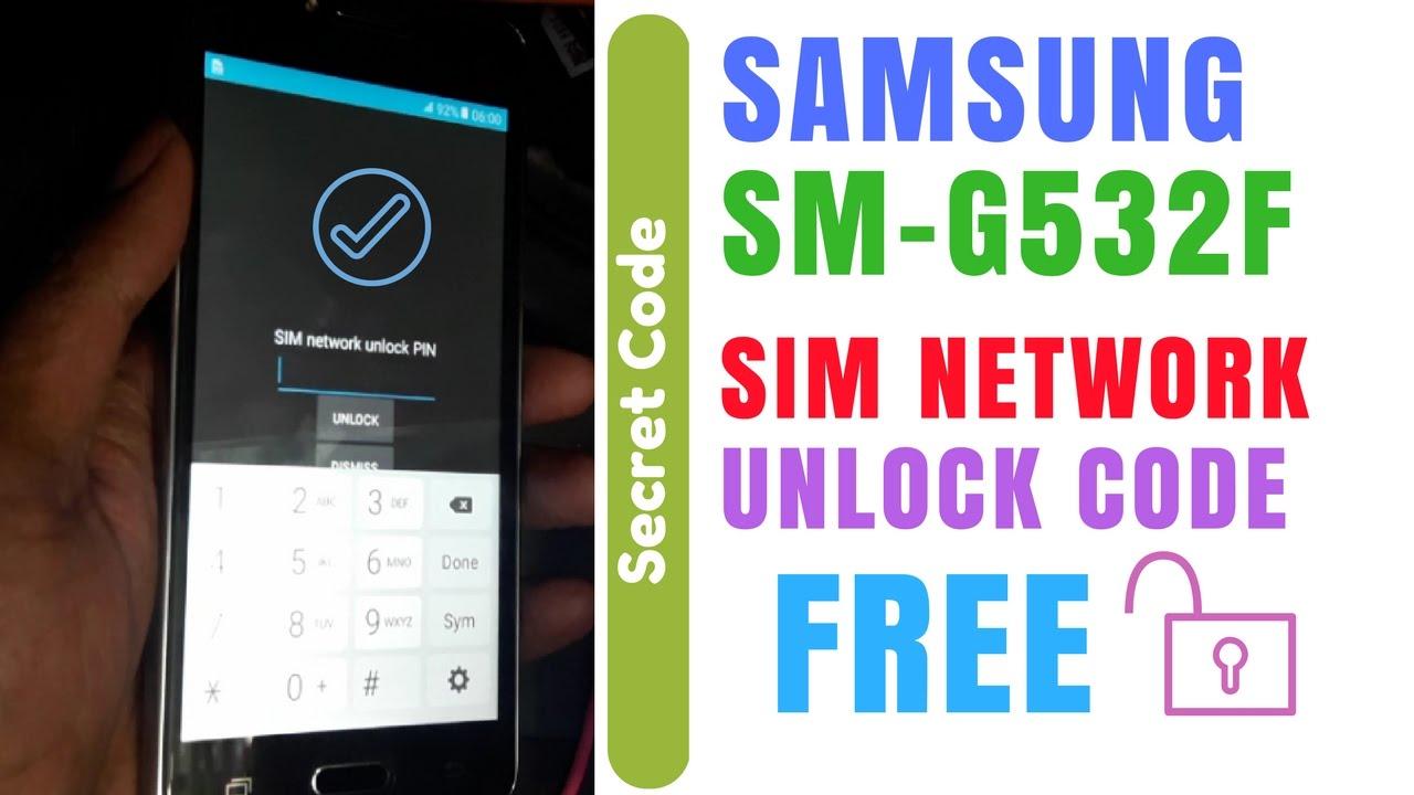samsung grand prime country code unlock india