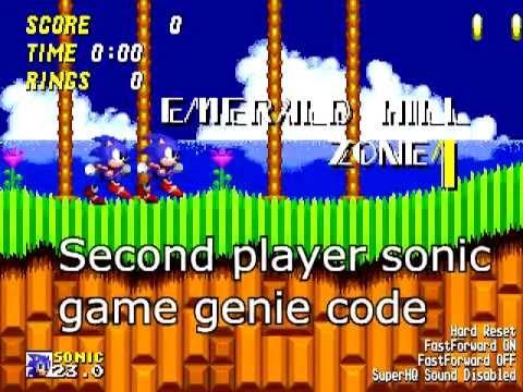 sega genesis game genie codes sonic 2