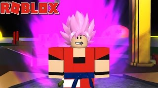 Roblox - O SUPER SAIYAJIN ROSE + SSJ 5 ( DRAGON BALL XENOVERSE BR [BETA] )