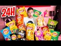JE MANGE QUE DES CHIPS PENDANT 24H !!!😱- Néo The One