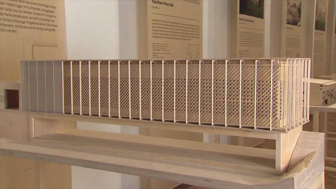 Ausstellung Bauen mit Holz Knstlerhaus Wien  YouTube