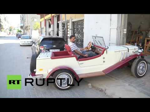 State of Palestine: Mercedes classic car replica proves to be head turner in Gaza