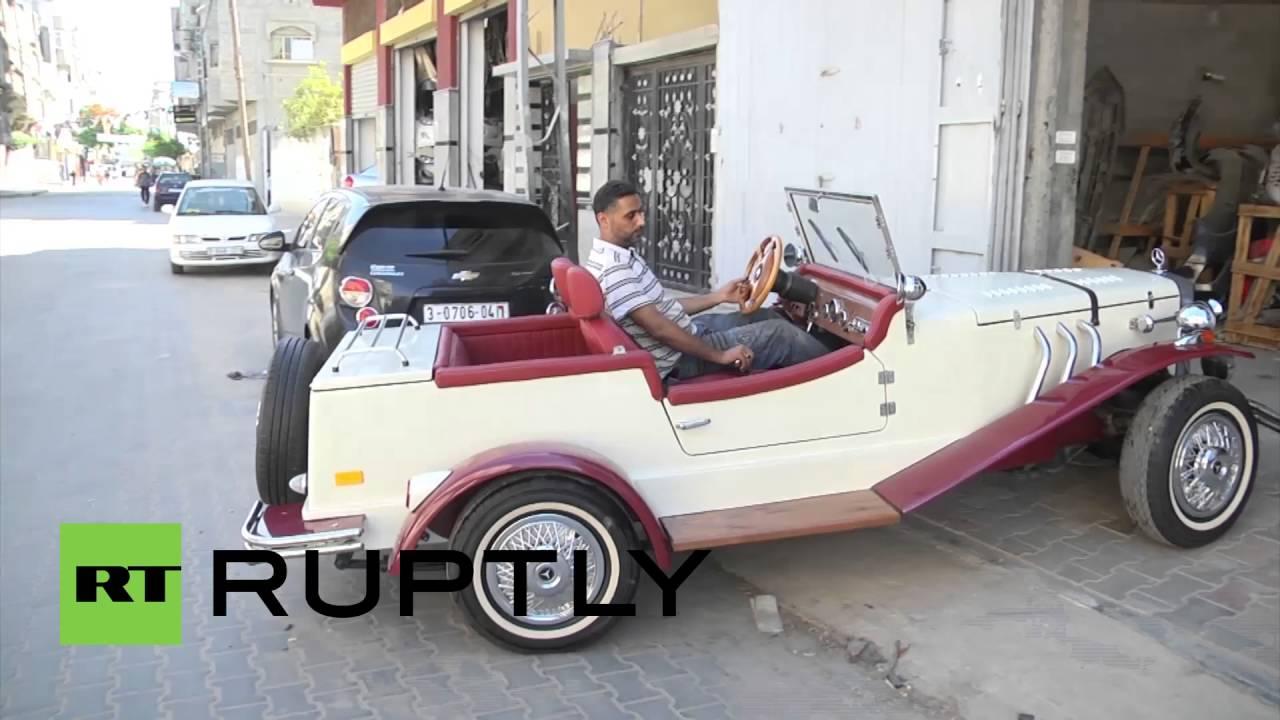 State of Palestine: Mercedes classic car replica proves to be head ...