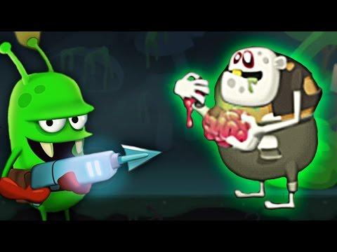 ОХОТА НА ЗОМБИ встретил РАДИОАКТИВНОГО ЗОМБАРЯ Весёлая игра про зомби / Zombie Catchers