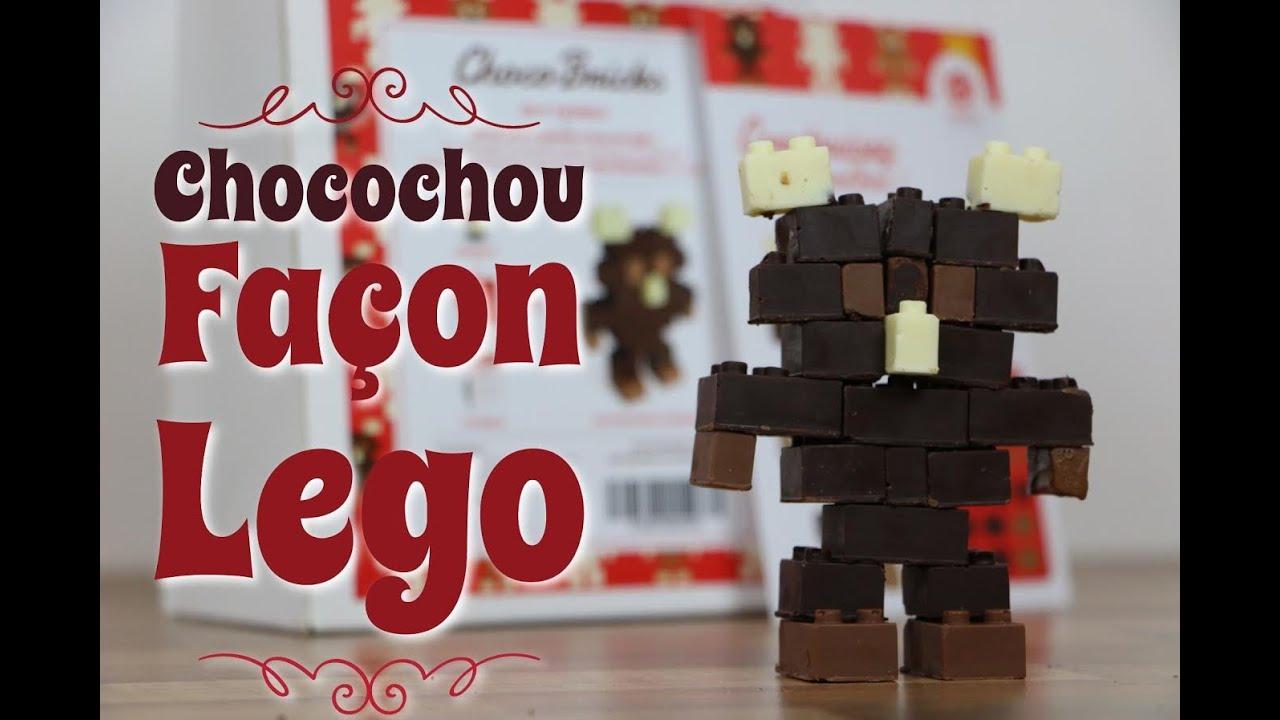 Robot En Chocolat Facon Lego Kitchen Trotter Youtube