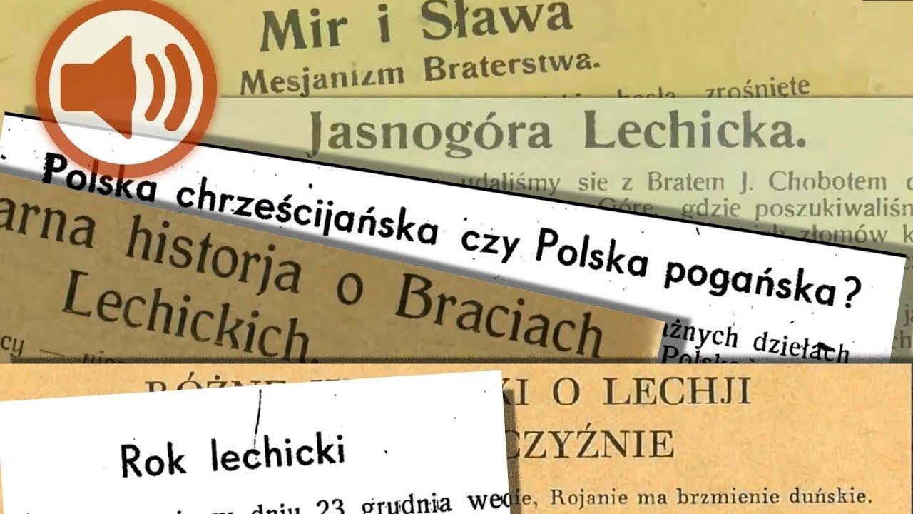 Lechistan Książka Mówiona Skany Artykułów Z Lat 1865 1947