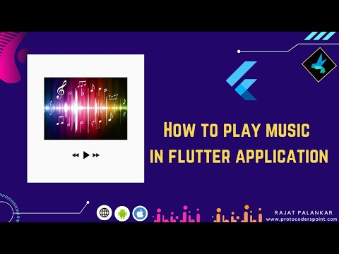 [ Easy to Implement ] Music player in flutter -  assets audio player package