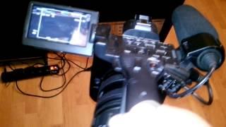 Як настроювати баланс білого на камкордері Sony HXR NX5U