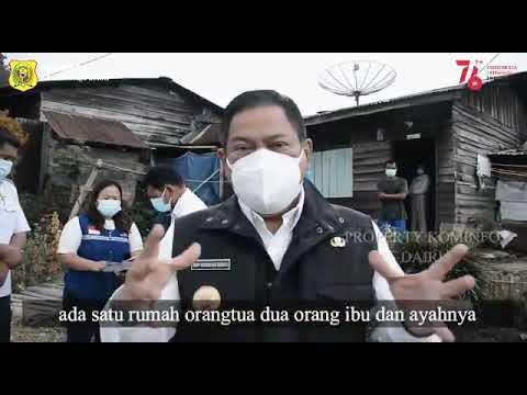 Penyerahan Bantuan Bagi ISOMAN di Kecamatan Sumbul