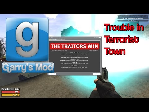 Garry's Mod TTT Funny Moments (Bass Cannon, Shotgun Buddies, and More!)
