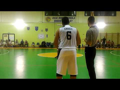 Serie D Regionale 2019/2020 - Roccarainola Vs CDP Basket Club