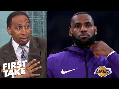 LeBron doesn鈥檛 want blame if Luke Walton gets fired- Stephen A. | First Take