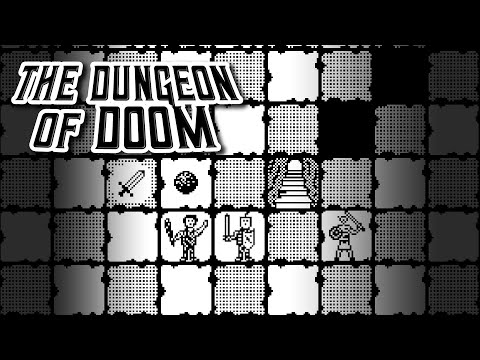The Dungeon of Doom / The Dungeon Revealed - Classic Mac