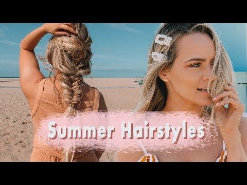 Easy Summer Hairstyles - KayleyMelissa
