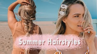 Easy Summer Hairstyles (Perfect for Travel!) - Kayley Melissa