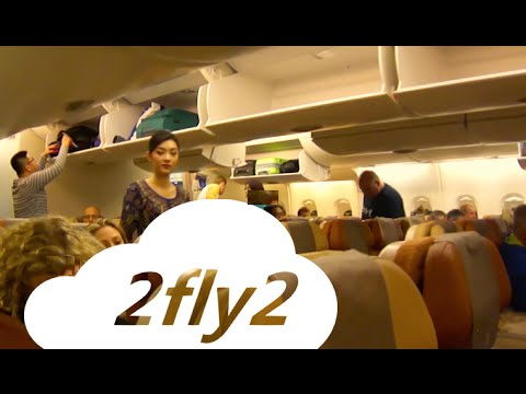 Airbus A380 SINGAPORE AIRLINES Singapore-Zurich Economy Class
