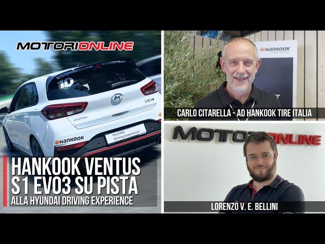 HANKOOK ALLA HYUNDAI DRIVING EXPERIENCE | Intervista a Carlo Citarella, A.D. di Hankook Tire Italia