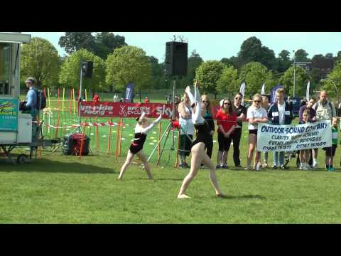 Sovereign Sports Acro Squad - Reigate Gym Display 2014